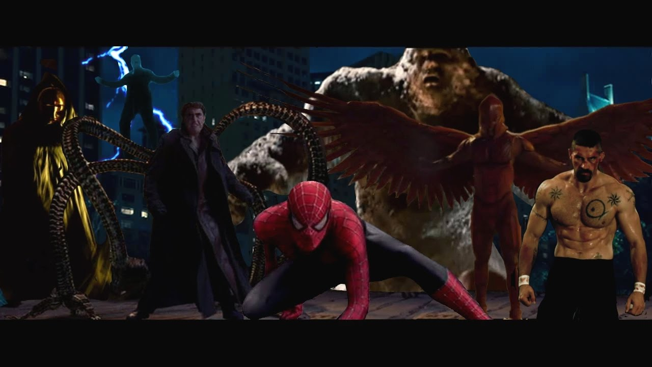 spiderman 4 the sinister six theatrical trailer youtube
