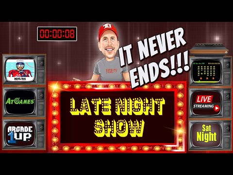 """LATE-NIGHT REXERSHOW! 'It NEVER Ends..."""" (1up, Atgames,NHL94, Surprise Package?) from therexershow"""