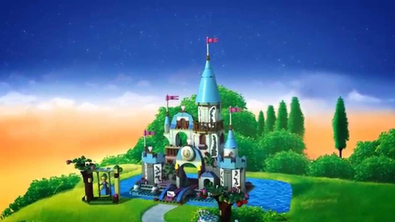 lego disney princess cinderella s castle 40155 youtube