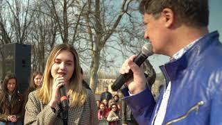 Караоке на майдані, Одеса, 1 квітня 2019 року, відеозвіт :)