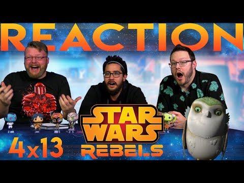 Star Wars Rebels 4x13 REACTION!! A World Between Worlds