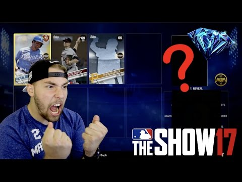 EPIC DIAMOND PULL! PACKS IN PACKS? THIS IS AWESOME! MLB The Show 17!