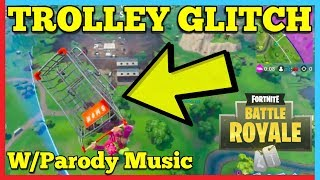 Fortnite Flying Trolley Glitch! | W/ Titanic Music | Martimert & Laurence Harper