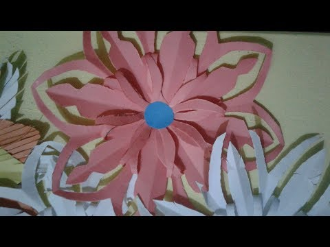 DIY crafts: PAPER FLOWERS (daisies) - Sharif Karim, Paper Flowers,Origami Flower Easy paper flower