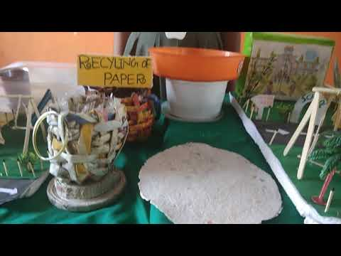 This is how you can recycle old news papers- explained by our Star Global school kid