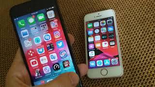 Работа IOS 13 Beta 1 на IPhone SE