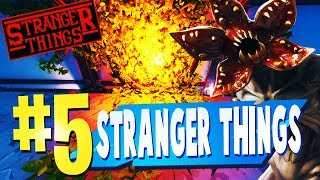 TOP 5 BEST STRANGER THINGS Creative Maps In Fortnite (NEW PORTALS) Fortnite Stranger Things Map CODE