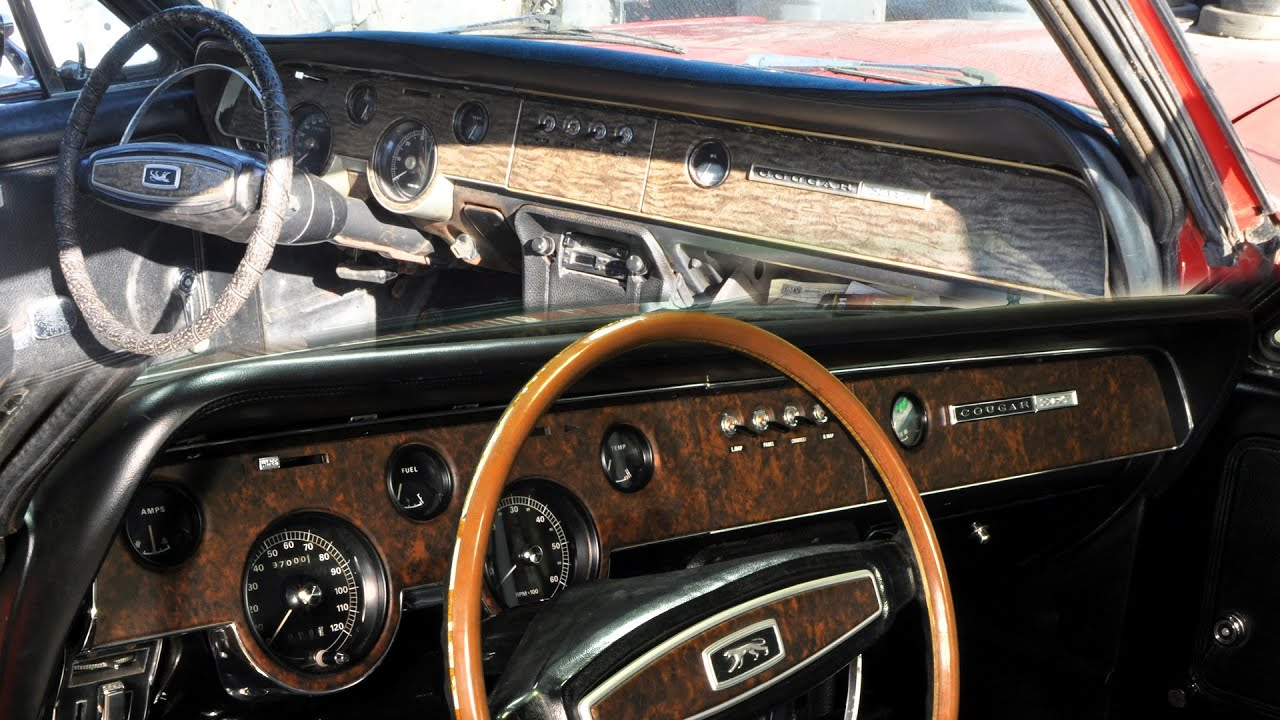 1969 Mercury Cougar Dashboards