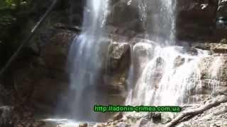 видео Водопад Джур-Джур в Крыму - симфония воды