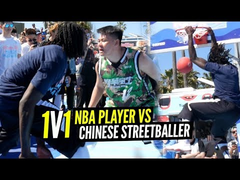 1 v 1 King Of The Court NBA Player vs Chinese Streetballer GETS WILD at VBL!! Montrezl vs SOY SAUCE thumbnail