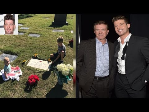 Robin Thicke Visits Late Father Alan's Grave with Son Julian and Daughter Mia: 'Count Your Blessings Mp3