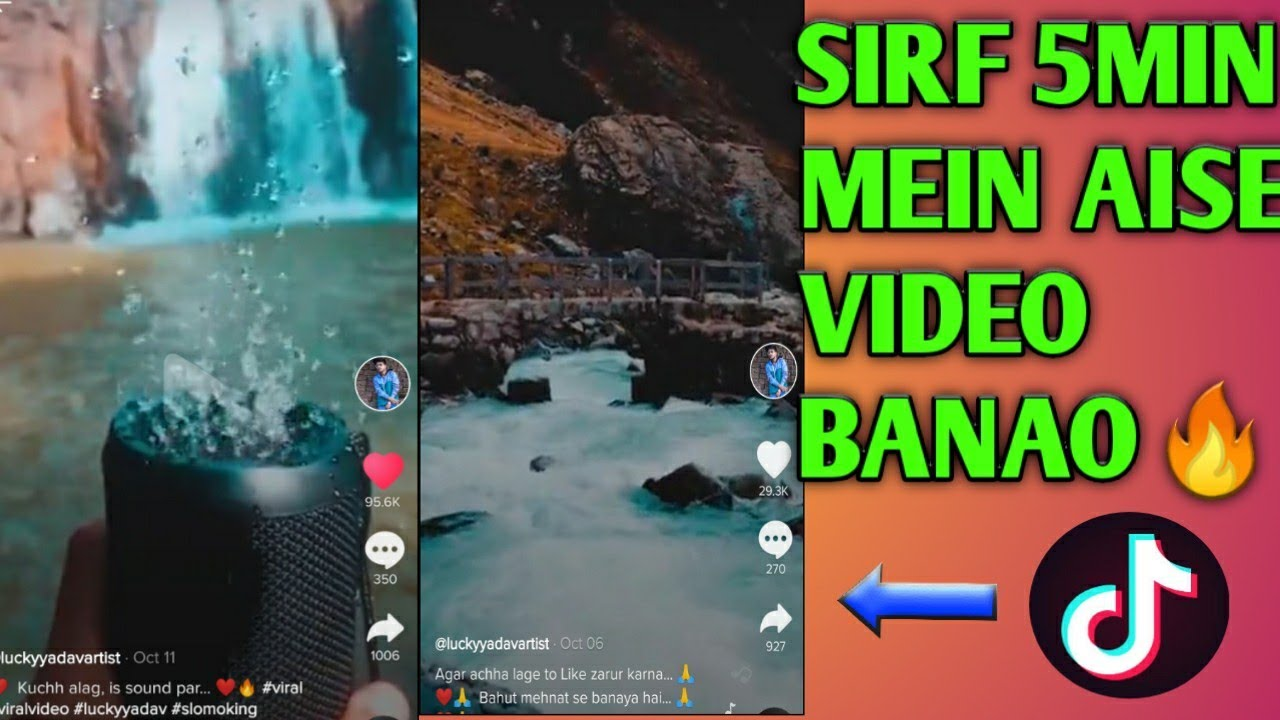 Tiktok Most Viral Video Editing | How to Edit Cinematic Videos in mobile