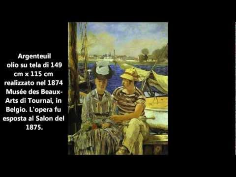 Édouard Manet opere dal 1858 al 1882 - Pittura Pre-impressionista 800 Parigino - Loreto Arte