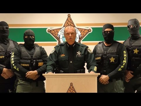 'We are coming for you  Run ' - FL Sheriff delivers message to drug dealers