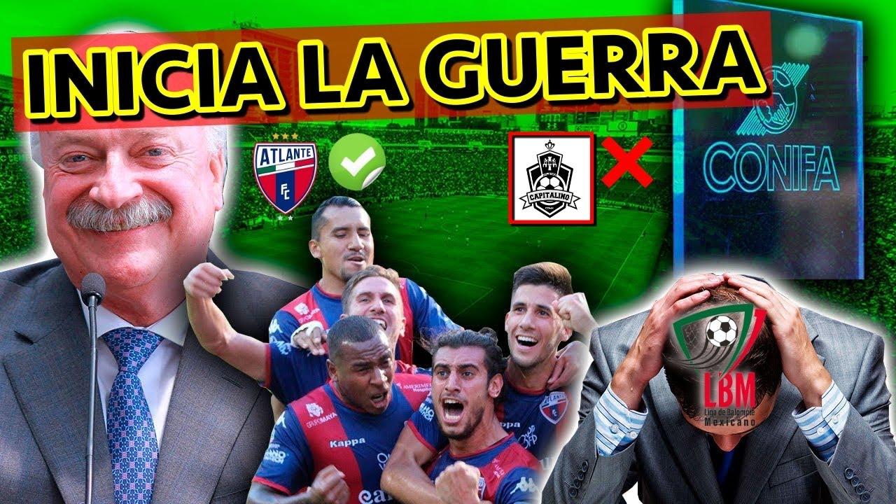 EL INICIO DE LA GUERRA Entre La Liga Del Balompié Mexicano Y La Liga MX