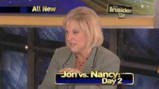 Nancy Grace vs. Jon Gosselin FACE OFF