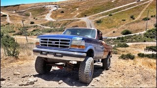 OFF-ROADING MY SINGLE CAB OBS!