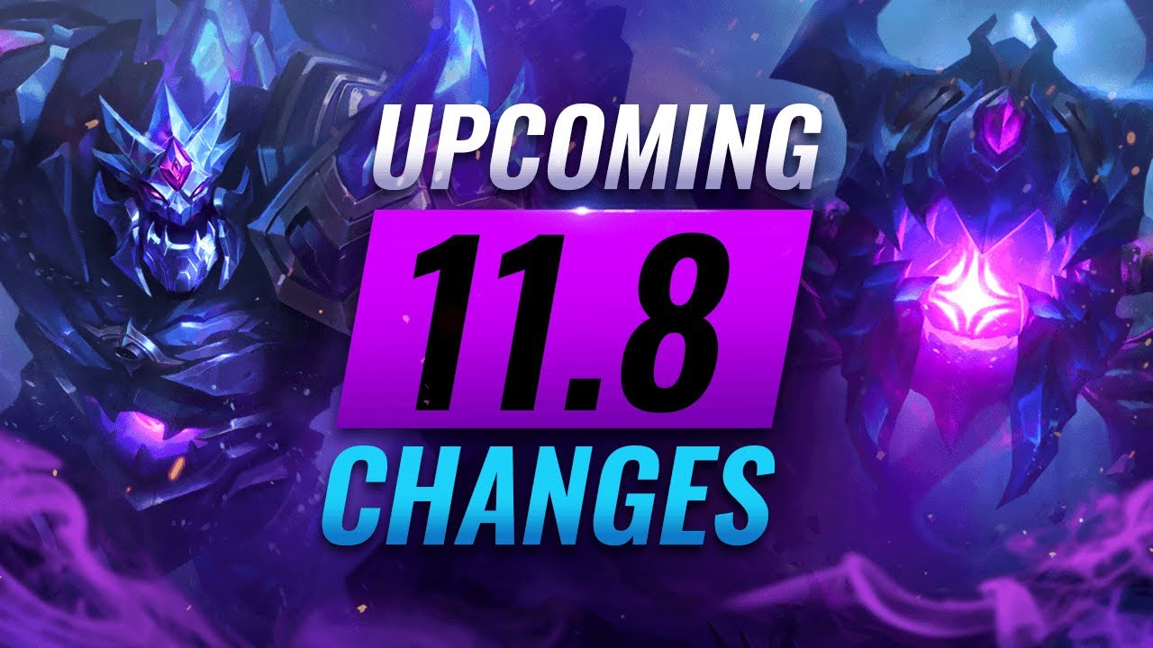 MASSIVE CHANGES: NEW BUFFS & NERFS Coming in Patch 11.8 - League of Legends