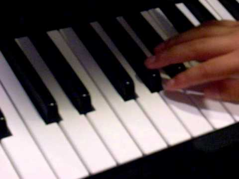 TWILIGHT ZONE THEME SONG ON PIANO