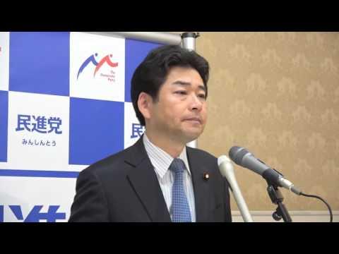 61129 山井国対委員長会見 2016年11月29日