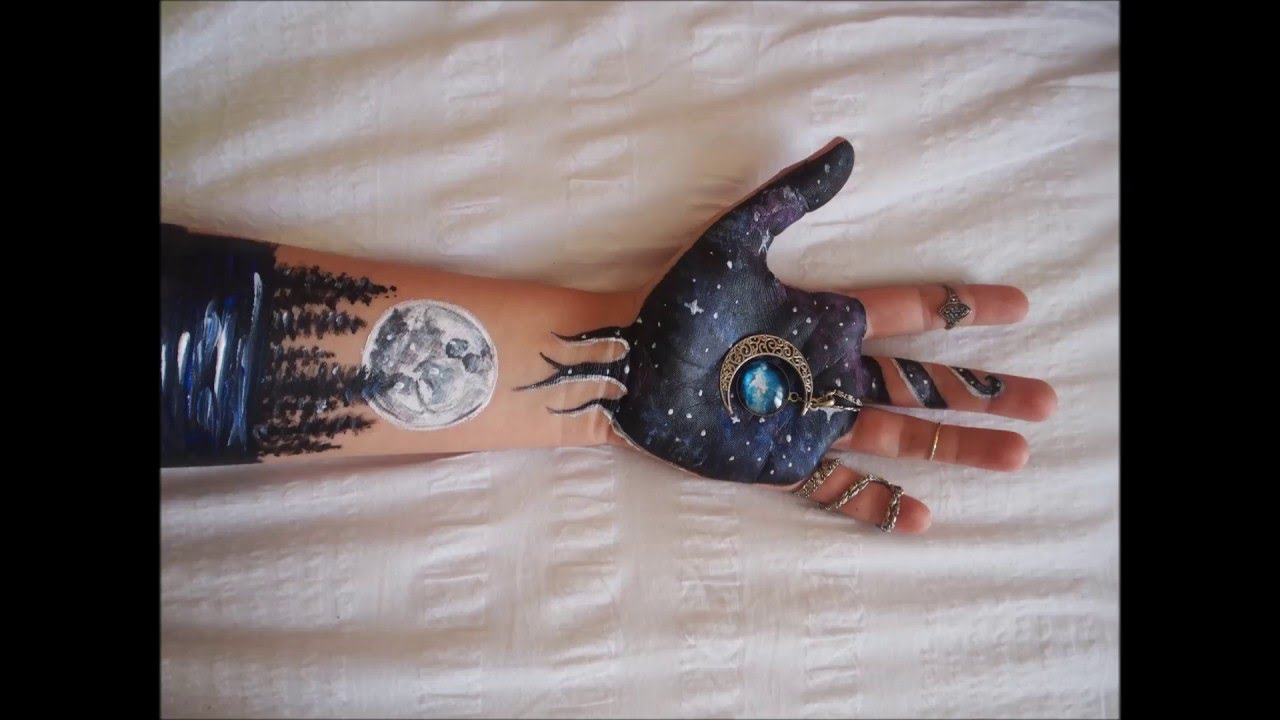 ARM PAINTING Galaxy  YouTube