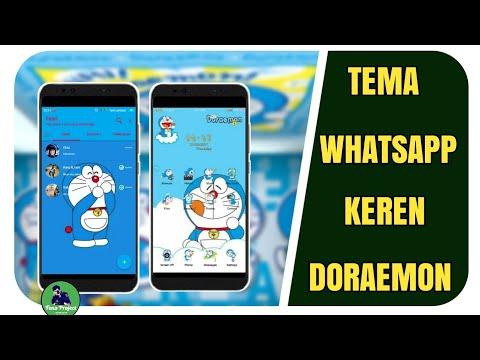 Tema Whatsapp Keren Doraemon Di Android Tema Doraemon