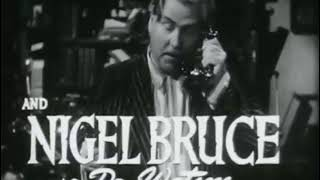 SHERLOCK HOLMES AND THE SECRET WEAPON (1942) trailer S.T.Fr./Engl.Sub. (optional)
