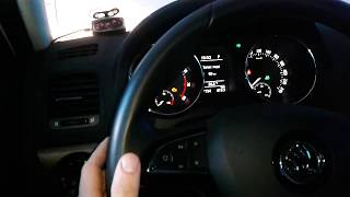 Видео: Как поморгать поворотниками Skoda Yeti, Шкода Йети