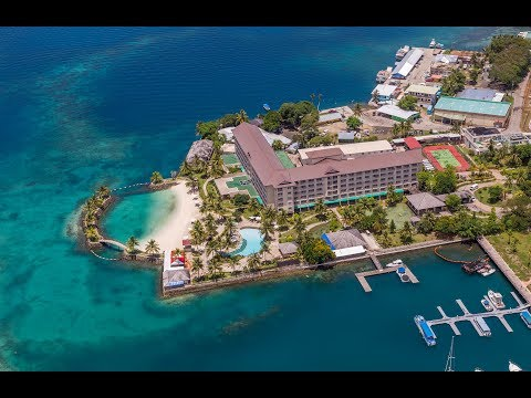 Palau Royal Resort; my video review of this luxury hotel on Palau. Paradise island!