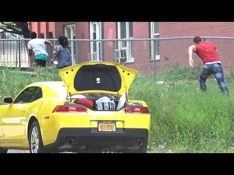 Open Trunk - Bait Car (Social Experiment)