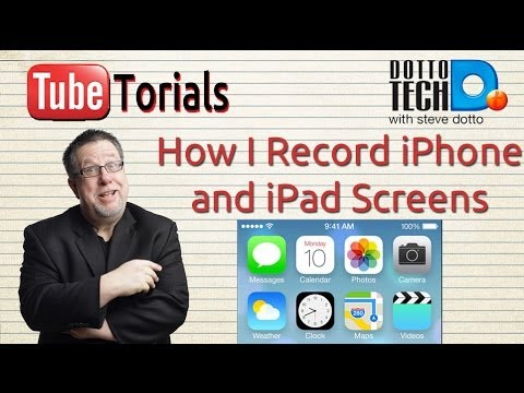 Recording iPhone Screens with Reflector - TubeTorial