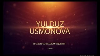 Yulduz Usmonova-Men sen bilan Kirolichaman( Albom takdimoti 2015)