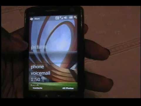HTC TOUCH HD WM6.5 HANDS-ON UPDATE