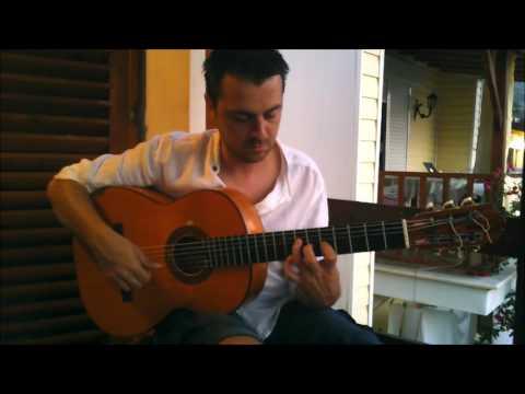 Flamenco Guitar -  Farruca intro & tremolo