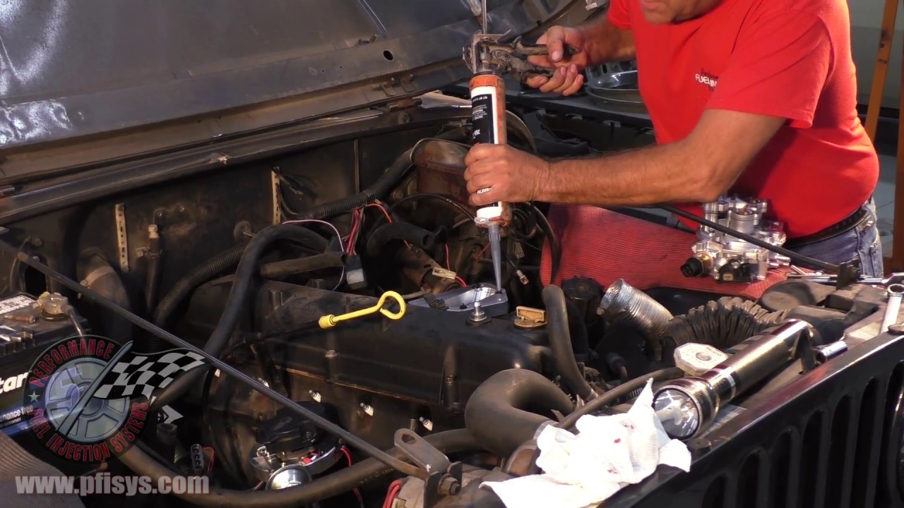 Jeep Fuel Injection Installation Youtube Edelbrock Msd 6al Wiring Diagram