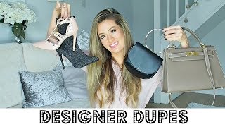 DESIGNER DUPES HAUL - SHOES & BAGS (primark, asos, shein, accessorize)