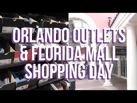 ORLANDO SHOPPING DAY - Outlets & Florida Mall | Orlando February 2019