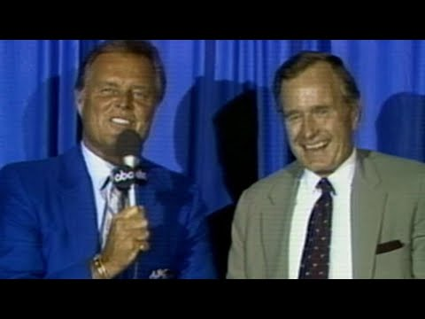 1986 ASG: Drysdale interviews George H.W. Bush