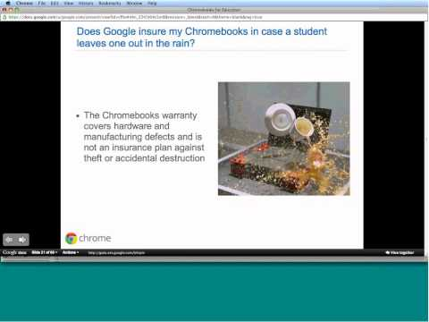 Chromebooks for Education Overview webinar 7-19