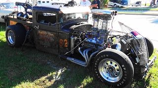 "Rat Rod Tow Truck ""Swamp Rat Towing"" Cruisin"