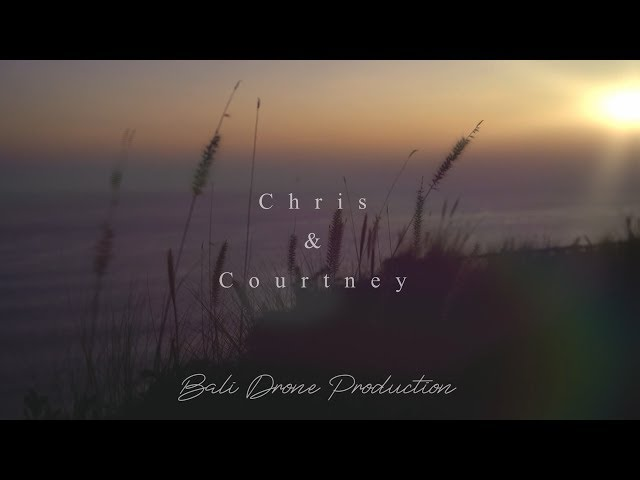 Courtney & Chris - teaser - Uluwatu - Bali