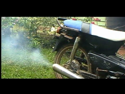 SEBAB dan AKIBAT motor 4 tak berASAP HITAM maupun PUTIH