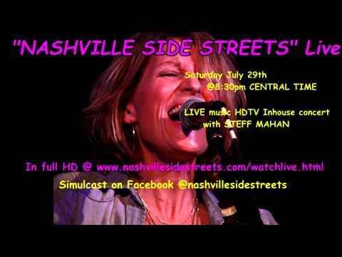 Live HDTV Inhouse Concerts: Steff Mahan Live Sat. 7/29 @8:30pmCST