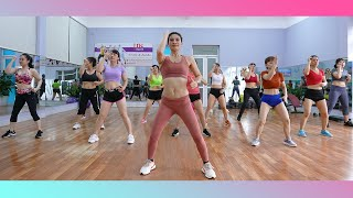 LEGS + ARMS + BELLY + HIPS EXERCISE  Best Fat Burning Exercise At Home  Zumba Class