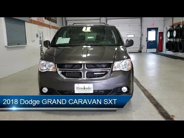 2018 dodge grand caravan sxt rhinelander eagle river woodruff merrill antigo youtube youtube