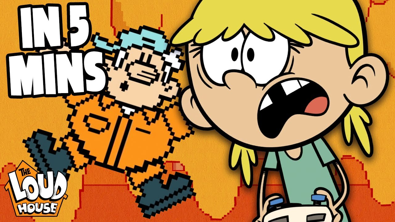 Download Addicted To Video Games! 'Game Off' In 5 Minutes | The Loud House