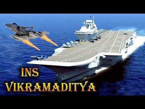 INS Vikramaditya in