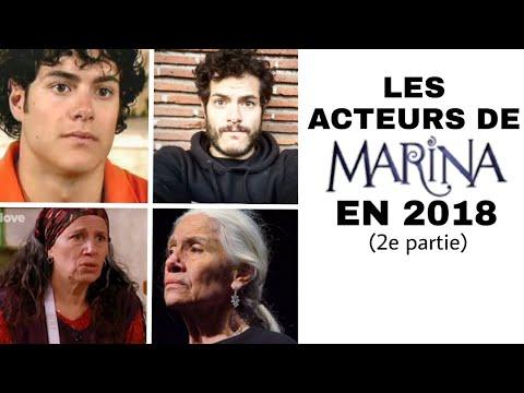 Les Acteurs de MARINA en 2018 (2e partie)