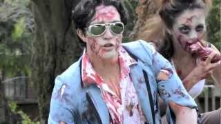 PSY - GANGNAM STYLE (강남스타일) Parody- ZOMBIE STYLE -English Version spoof