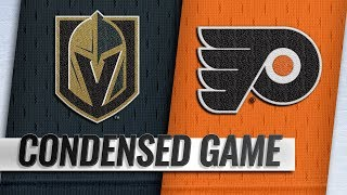 10/13/18 Condensed Game: Golden Knights @ Flyers